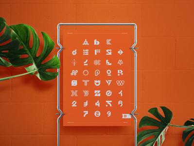 For sale: 36 days of type poster logodesigner illustrator identity design designer 36daysoftype