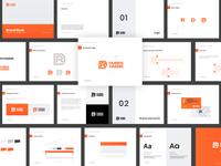 Personal brand - Digital guidelines logotype gradient color logodesigner identity brand orange guidelines digital guidelines brand book personal branding personal brand branding designer design logo