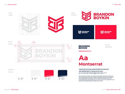 Brandon Boykin - Brand Identity designing logodesigner mark identity brand branding designer design logo nflplayer public speaking national football league