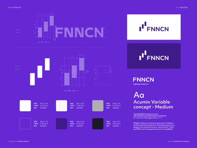 FNNCN - Brand identity identity branding designer brand stocks investing invest logo investment platfrom investment logo financial platfrom financial logo logos financial design logo