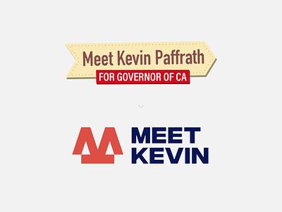 Meet Kevin - logo concept california investment letterlogo identity brand designer branding design logo logo design youtuber meet kevin