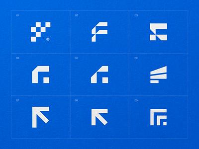 F Symbol Design vector mark identity brand branding designer engineering site engineering f logo design f logo logo design f logomark f mark f symbol design logo