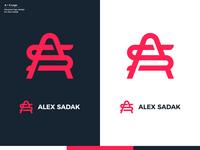 A + S Logo Design