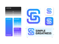 S + G Logo design