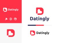 Dating app design concept for Datingly