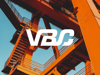 Virtus Building Corporation typography color concept logotype logo vector process los angeles identity designer design contracting construction company branding brand