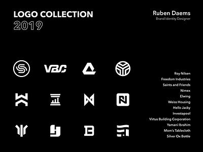 Logo Collection 2019 mark illustrator vector identity designer design logo design 2019 collection