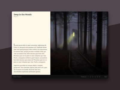 Book & Article Layout with CSS Grid and Flexbox