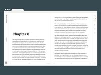 Minimal Book UI - Exploration