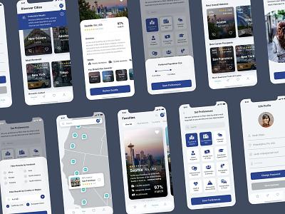 MetroMatcher App travel mobile design mobile app mobile ui mobile uiux uxdesign uidesign ux ui