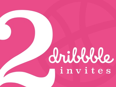 Dribbble Invite Giveaway typography dribbble invite giveaway dribbble invites dribbble invite
