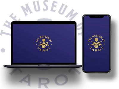 The Museum of Tarot - Prototype prototype ux typography ui logo design branding gold illustration metaphysical dailyui app animation ui design dark theme web design