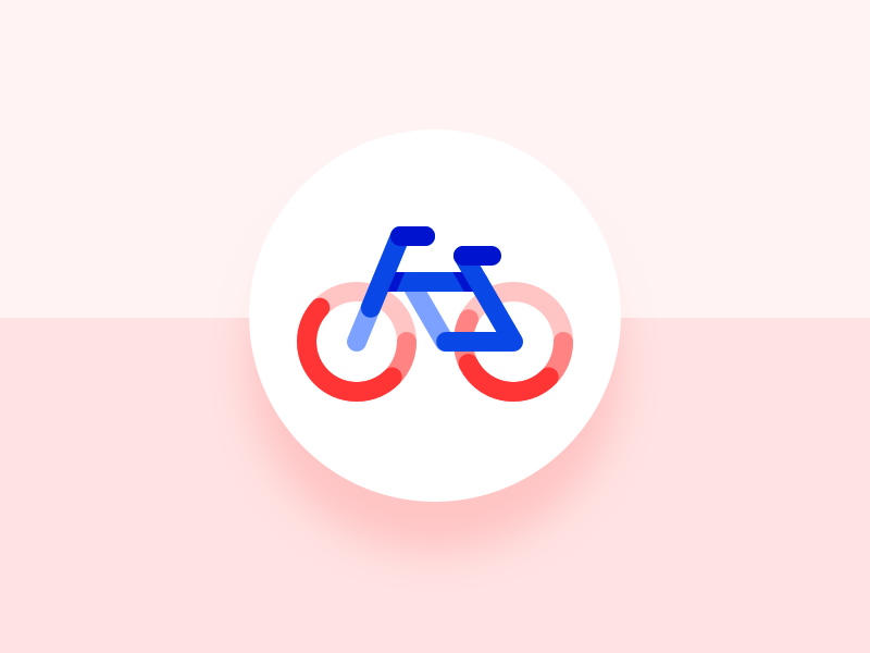 005 App Icon cycling adaptive icon android dailyui