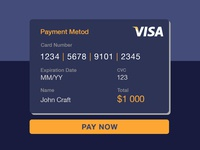 #002 Credit card payment