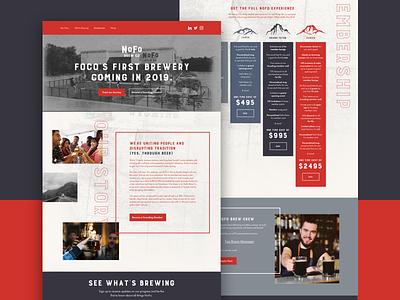 Nofo Brewery luxury wyoming west website brewery brewer