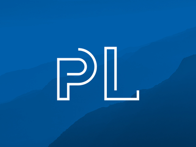 The new logo for my own design studio is here blue logo pl