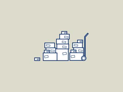 Illustration about shipping illustration