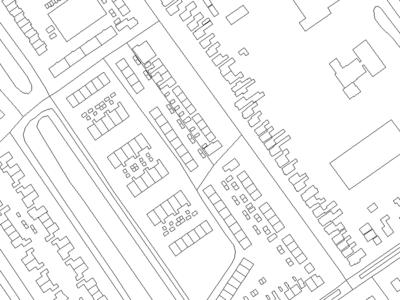 Mapart Basic cartography line blackwhite map mapart