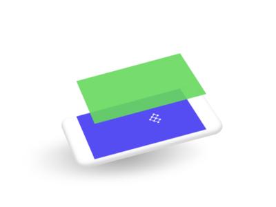 Illustration of a digital product 1 illustration phone olisto