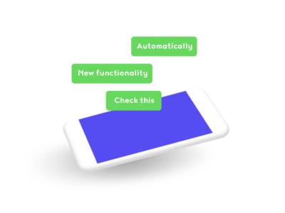 Illustration of a digital product 3 olisto phone illustration