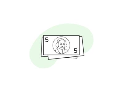 Illustration about costs money olisto illustration