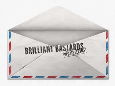 Dribbble envelop