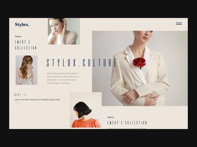 Stylux:. Fashion Layout Explore Animation