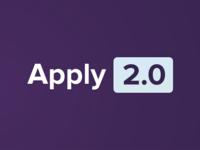 Apply 2.0 branding