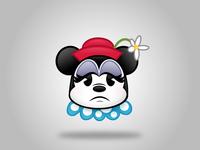 Vintage Minnie Emoji (Sad)