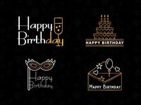 Birthday Theme Logo Collection   800x600
