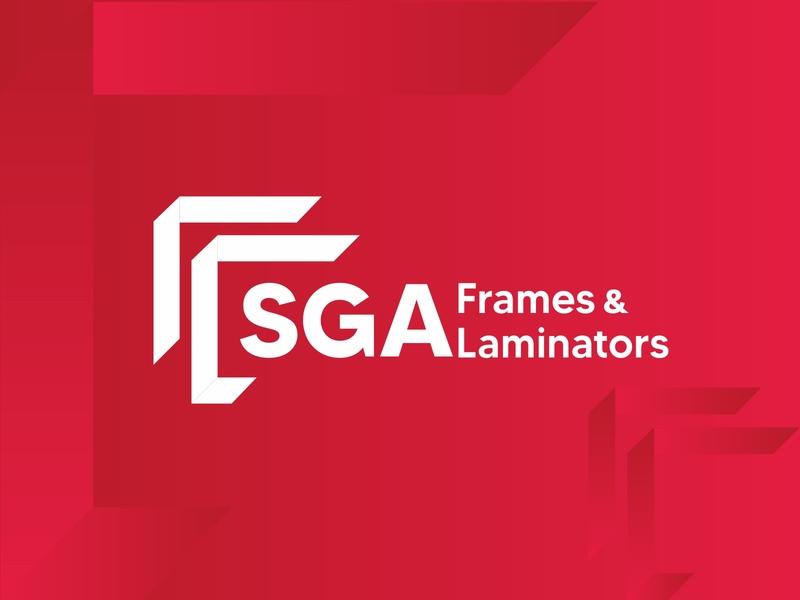 Frames and Laminators Logo photography photo laminators frames brand identity combination mark creativity logotype logodesign logo branding