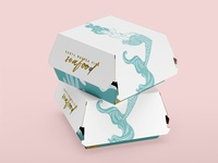 Santa Monica Pier seafood packaging and branding concepts