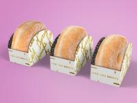 Iced Luxe Donut Packaging + Branding