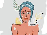 Gypsy Illustration for branding + Packaging