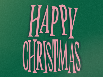 Christmas 2018   Frame Style noise happy christmas xmas vector after effects illustrator animation lettering letter photoshop illustration