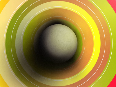 Sneak Peak   The Trajectory journey life trajectory grow movement ball circle graphics motion after effects design animation abstract photoshop illustration
