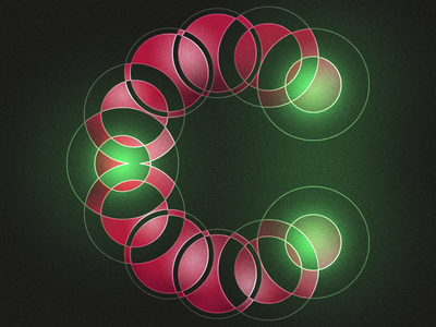 Type Fighter 2019 | Letter C negative positive path circle light vector shape photoshop illustrator illustration type letter