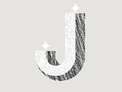Type Fighter 2019   Letter J texture white black alphabet design animation typography vector letter illustrator illustration photoshop lettering