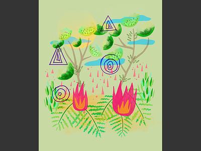 Londrina | Atlantic Forest brazil atlantic forest londrina poster design vector illustrator photoshop illustration