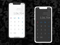 Dailyui 004 | Calculator