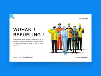 Wuhan Refueling!