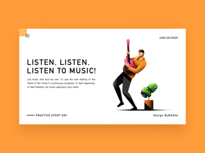 Listen, listen,  listen to music!