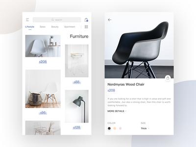 Furniture  Shopping UI simple ui shopping furniture
