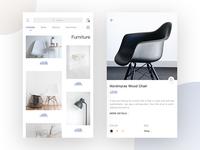 Furniture  Shopping UI