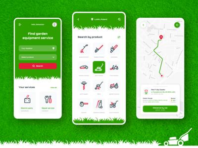 lawn mower app