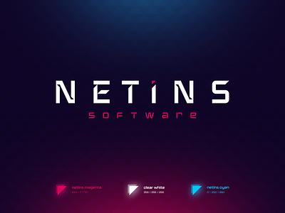 NETINS - branding logo design visual identity logo branding