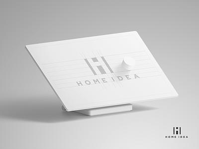 HOME IDEA - branding visual identity logo brand identity branding
