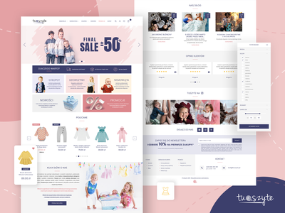 TuSzyte - online store webdesign ecommerce online store website webdesign website design web design