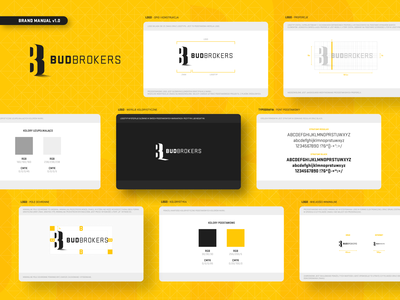 BudBrokers - branding