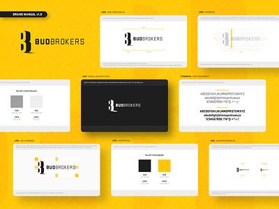 BudBrokers - branding corporate branding corporate identity logo design brand identity branding logo